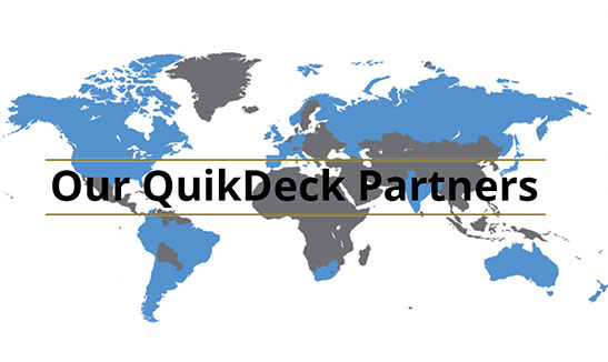 QuikDeck International Locations