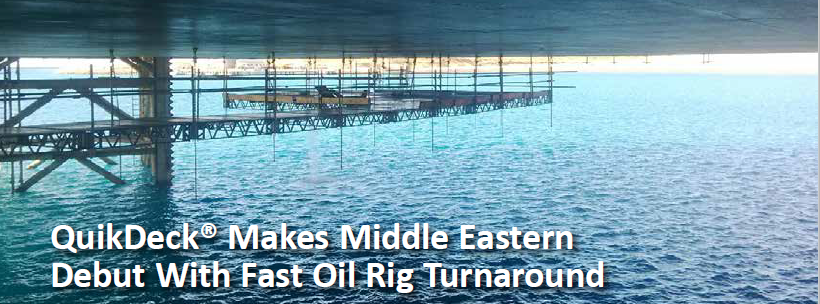 QuikDeck MIddle East Turnaround Project