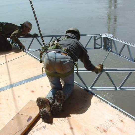 Suspended Decking: QuikDeck Suspended Access System